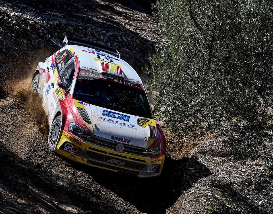 Nil Solans Polo R5 Rally Cataluña