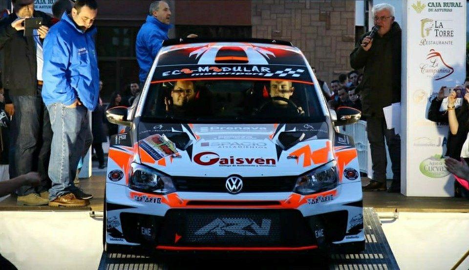 Alberto Ordoñez Rallysprint Llanera