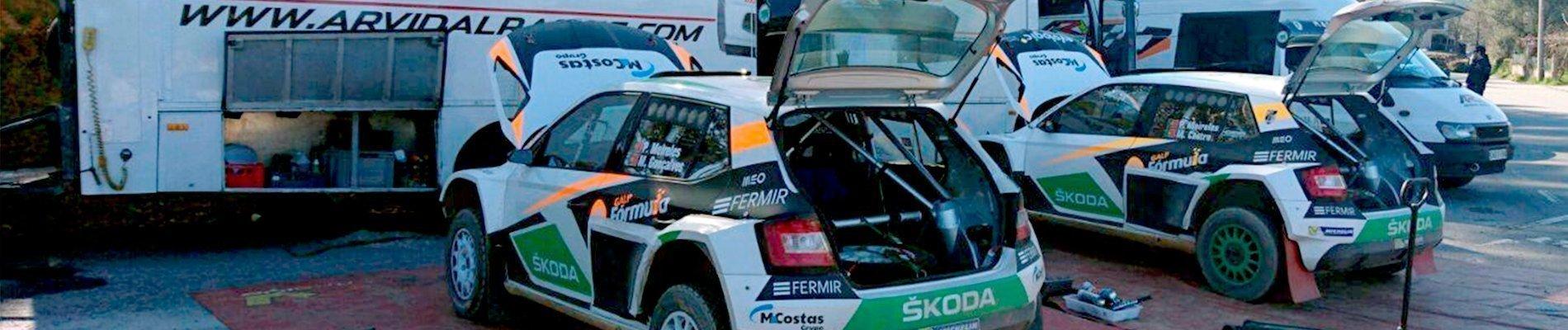 Reparación Skoda Fabia R5
