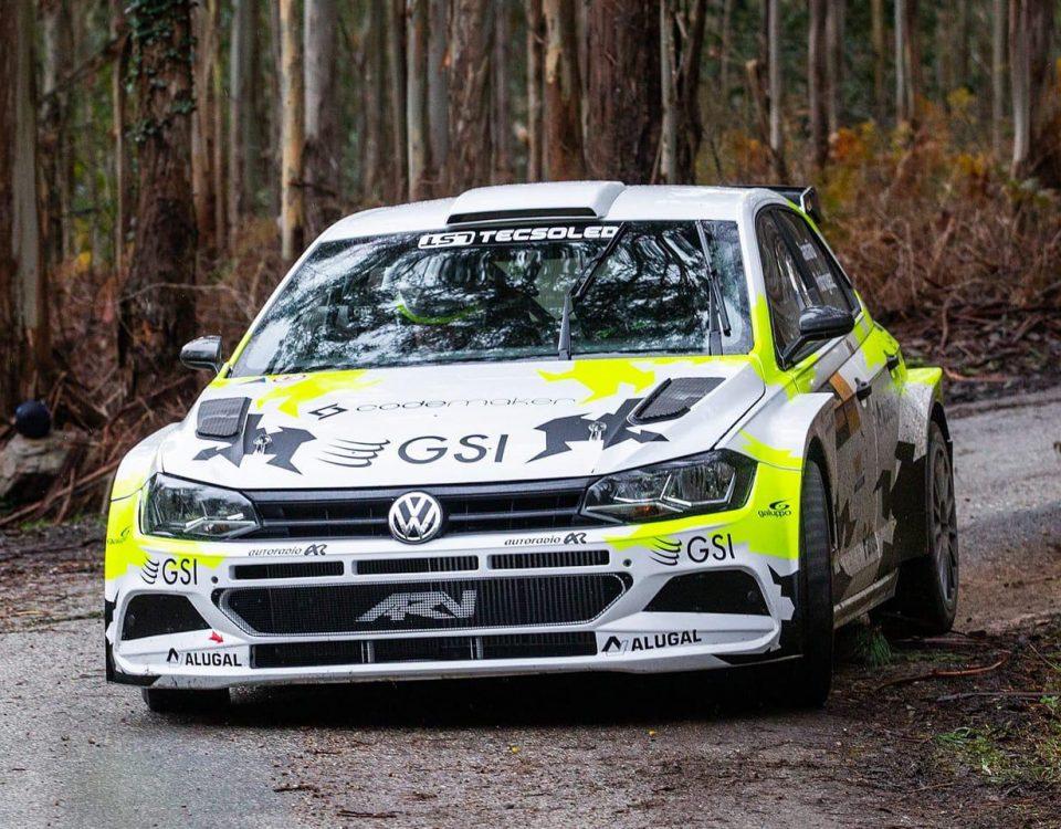 Iago Caamaño Rally Mariña Lucense