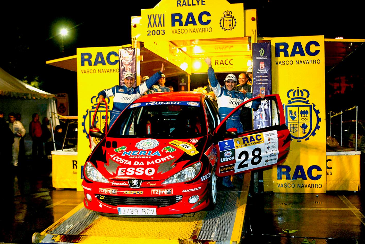 Amador Vidal campeón Copa Peugeot
